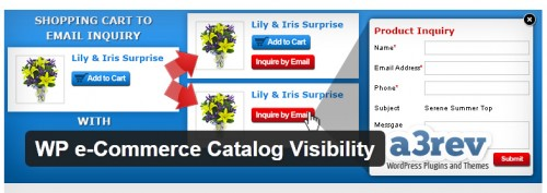 WP e-Commerce Catalog Visibility