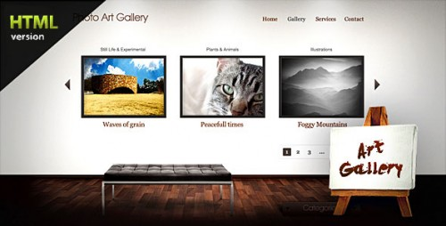 Art Gallery - Photography, Illustration and Design