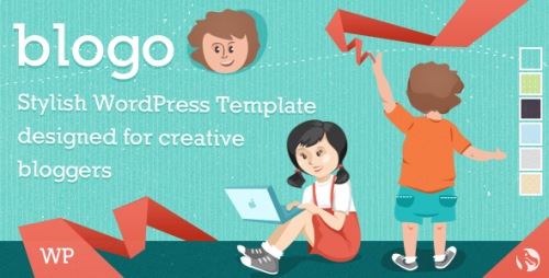 Blogo - WP Theme for Creative Bloggers