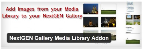 NextGEN Gallery Media Library Addon