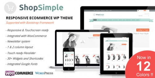 Shopsimple - Responsive eCommerce WP Theme