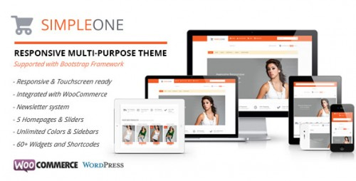 Simpleone-Responsive WordPress Theme