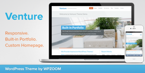 Venture - Business & Portfolio WP Theme