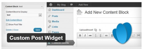 Custom Post Widget