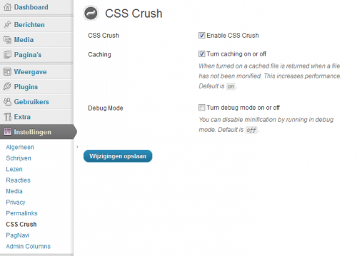 CSS Crush for WordPress