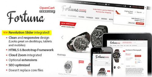 Fortuna - Responsive OpenCart Theme
