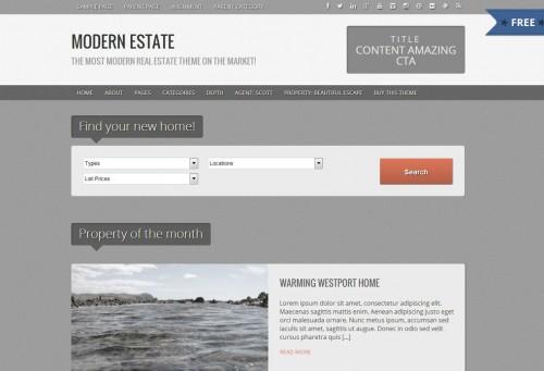 Modern Estate Free