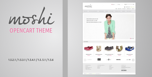 Moshi - Responsive OpenCart Theme