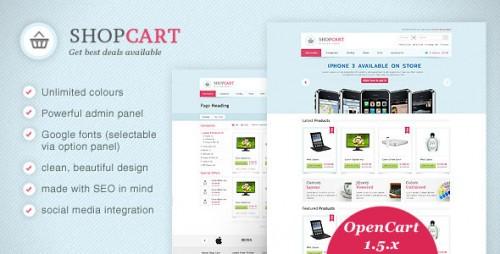 ShopCart - OpenCart Theme