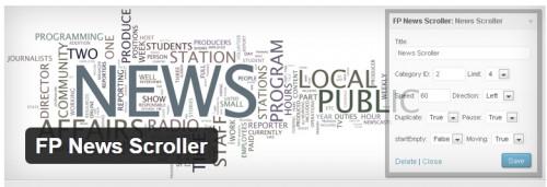 FP News Scroller