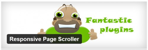 Responsive Page Scroller