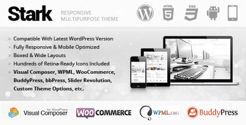 Stark Responsive Multipurpose WordPress Theme