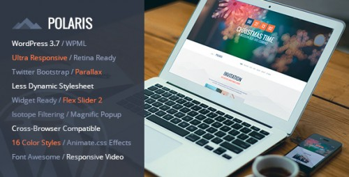 POLARIS - Responsive WordPress Theme