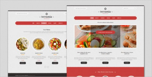 Terramia - Classic Restaurant WordPress Theme
