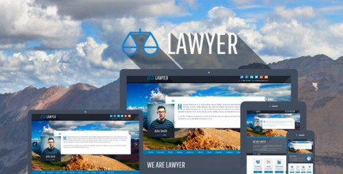 Lawyer - Bootstrap Responsive WP Theme