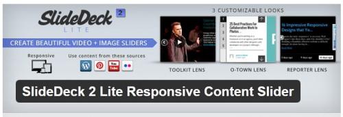 SlideDeck 2 Lite Responsive Content Slider