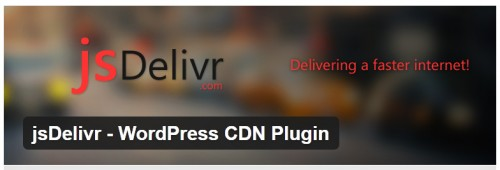 jsDelivr - WordPress CDN Plugin