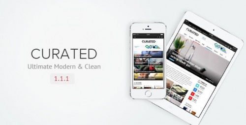 Curated - Ultimate Modern Magazine Theme