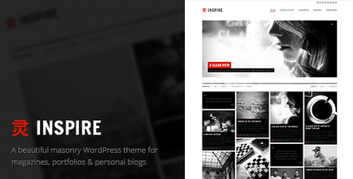 Inspire - A Multi-purpose, Masonry Theme