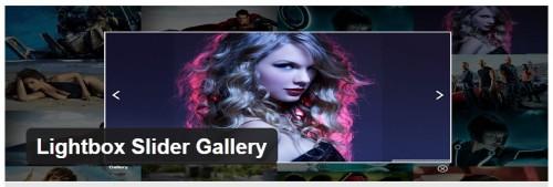 Lightbox Slider Gallery