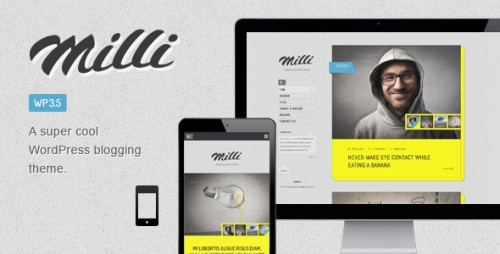 Milli Responsive Blog WordPress Theme