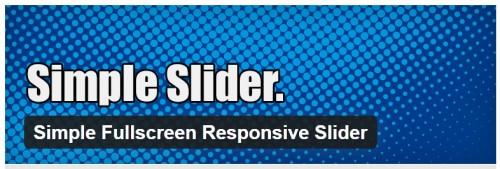 Simple Fullscreen Responsive Slider