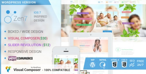 Zen7 - Premium Multi-Purpose WordPress Theme