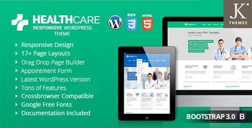 Health Care - Responsive Health WordPress Theme