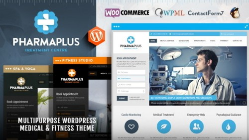 PharmaPlus - WordPress Medical & Fitness Theme