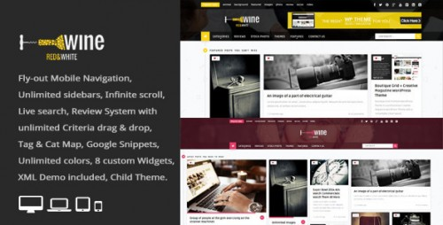 Wine Masonry - Review WordPress News, Magazine Theme