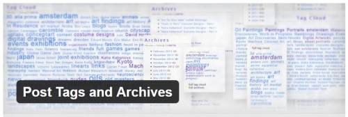 Post Tags and Archives
