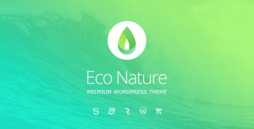 Eco Nature - Environment & Ecology WordPress Theme