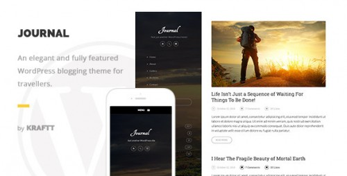 Journal - Elegant Responsive WordPress Blog Theme