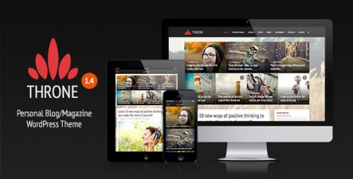 Throne - Personal Blog WordPress Theme