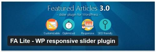 FA Lite - WP Responsive Slider