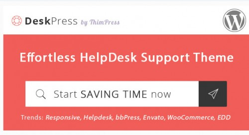 DeskPress - Effortless Helpdesk Support WordPress