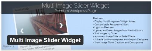 Multi Image Slider Widget