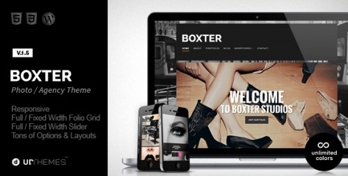 Boxter - Creative Responsive WordPress Theme