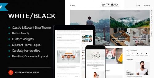 WhiteBlack - Responsive WordPress Blog Theme