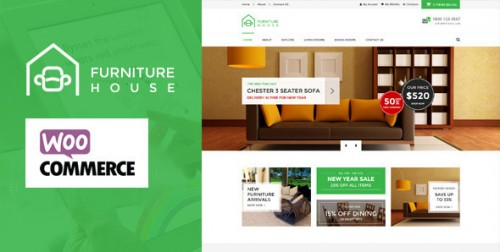 Furniture - WooCommerce WordPress Theme