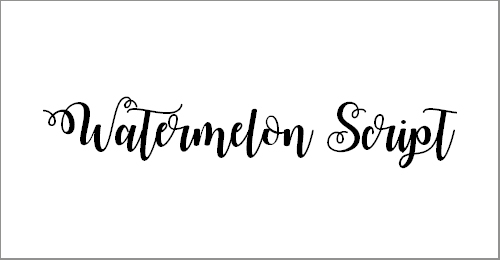 popular cursive fonts