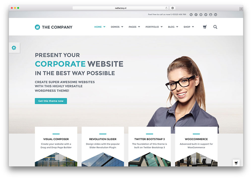 Top 6 responsive business wordpress themes for your business website top 6 responsive business wordpress themes for your business website wpvortex friedricerecipe Image collections